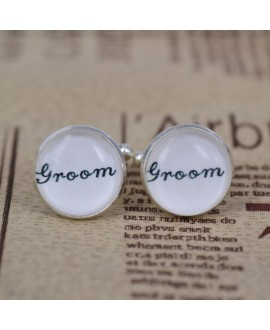 Manchetknopen voor de bruidegom (groom)