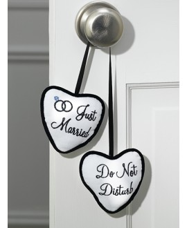 Just Married / Do Not Disturb deurhanger