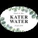 Etiket katerwater leaf - ovaal 63,5x42,3mm (per 18 stuks)