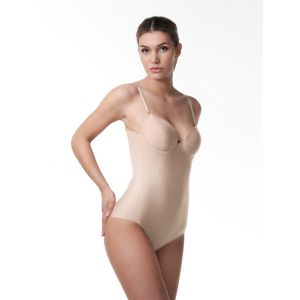 Poirier 17-100 Laag uitgesneden Body Nude