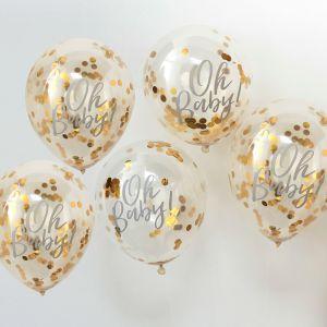 Ginger Ray OB-108 Oh Baby Confetti Ballonnen
