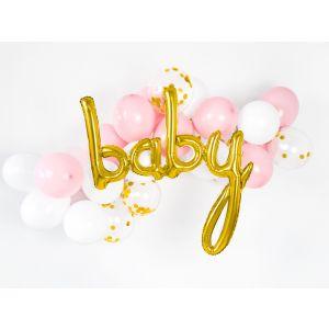 Folieballon Baby Goud