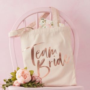 Ginger Ray FH-224 Floral Hen Canvas Tas