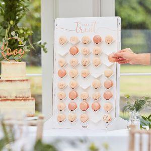 Ginger Ray BR-355 Botanical Wedding Macaron Stand