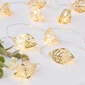Lichtslinger wijnblaadjes - Gold Wedding