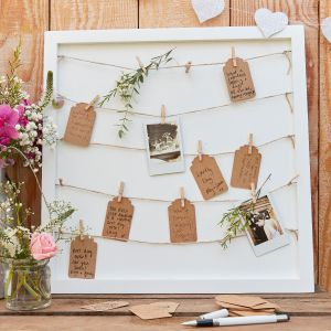 Ginger Ray CW-262 Rustic Country Houten Gastenbord