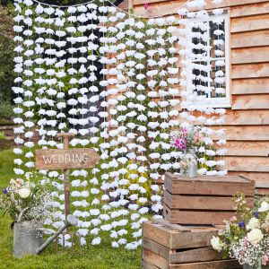 Ginger Ray CW-273 Rustic Country Bloemen Backdrop