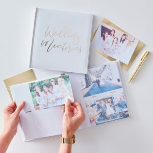 Ginger Ray GO-123 Gold Wedding Fotoalbum