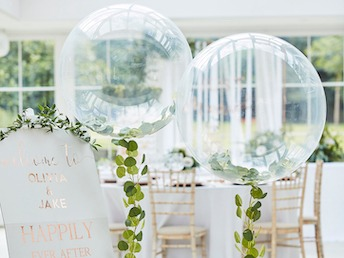 Ginger Ray BR-373 Botanical Wedding Orbz Ballon