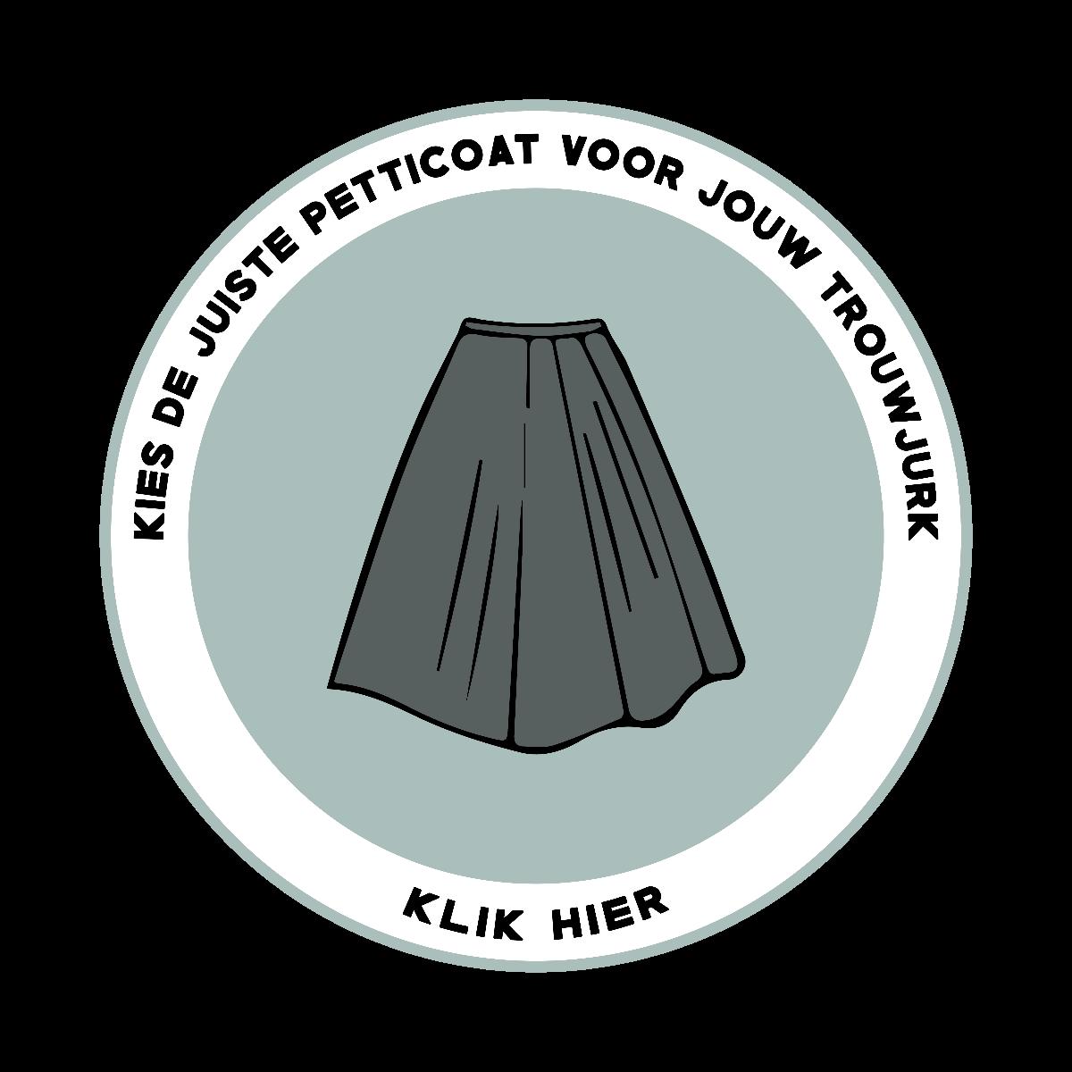Kies de juiste petticoat voor onder jouw trouwjurk